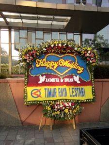 Karangan Bunga Papan Wedding Di Bekasi 085959000628